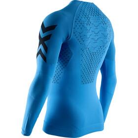 X-Bionic Twyce 4.0 Camiseta Running Manga Larga Hombre, twyce blue/opal black
